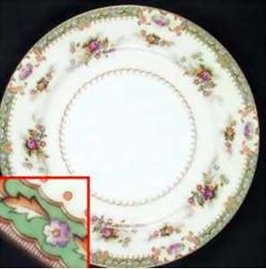Picture of Celebrate - Linda - Salad Plate