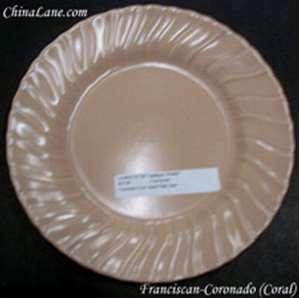 Picture of Franciscan - Coronado ~ Coral (Glossy) - Cream Soup Bowl