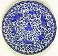 Picture of Japan China - Phoenix Bird - Luncheon Plate