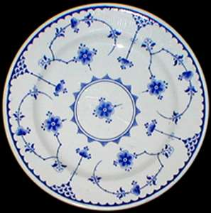 Picture of Furnivals - Denmark ~ Blue - Luncheon Plate