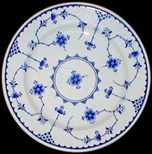 Picture of Furnivals - Denmark ~ Blue - Bread Plate