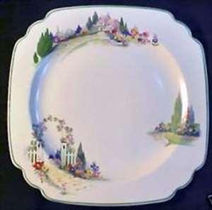 Picture of Homer Laughlin - English Garden - Dinner Plate