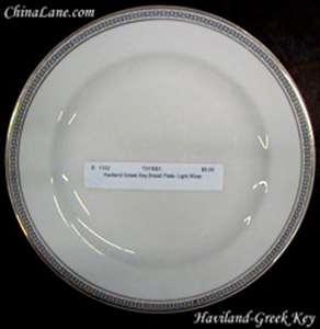 Picture of Haviland - Greek Key - Bread Plate