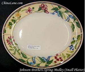 Picture of Johnson Brothers - Spring Medley - Platter