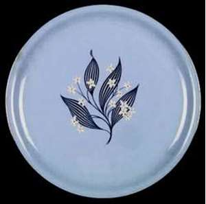 Picture of Homer Laughlin - Stardust - Bread Plate