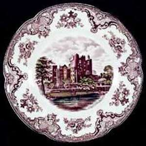 Picture of Johnson Brothers - Old Britain Castles ~ Brown Multicolor - Dinner Plate