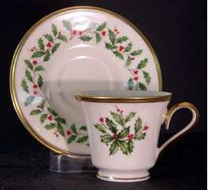 Picture of Lenox - Holiday - Cup and Saucer