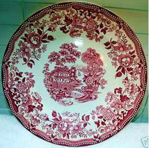 Picture of Meakin, Alfred - Tonquin ~ Pink - Bread Plate