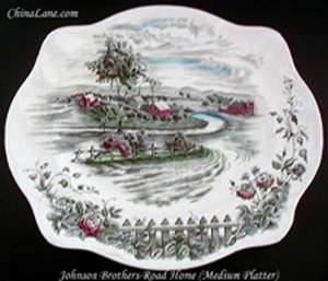 Picture of Johnson Brothers - Road Home - Platter