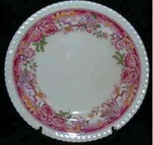 Picture of Johnson Brothers - Devonshire ~ Red/Multi - Dinner Plate