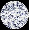 Picture of Johnson Brothers - Old Bradbury ~ Blue on White - Bread Plate