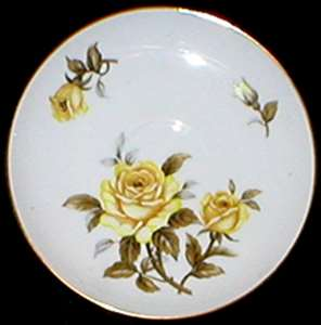 Picture of Harmony House - Yellow Rose - Salad Plate