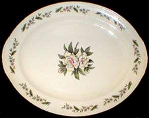 Picture of Homer Laughlin - Gardenia (Am. Vogue) - Platter