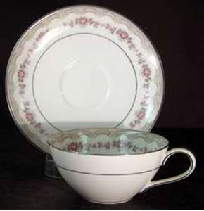 Picture of Noritake - Glenwood 5770 - Cup and Saucer