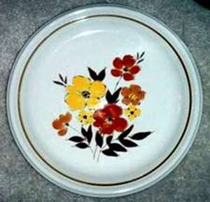 Picture of Deville - Fall Flowers 302 - Dinner Plate