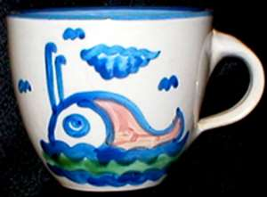 Picture of Hadley, M.A. - Ship and Whale - Cup