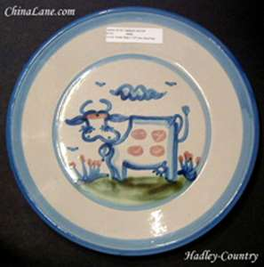 Picture of Hadley, M.A. - Country - Bread Plate