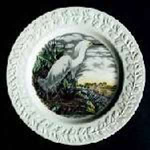 Picture of Adams - Birds of America ~ Multicolor (Laurel) - Dinner Plate-Ruffed Grouse