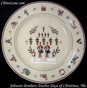 Picture of Johnson Brothers - Twelve Days of Christmas, The - Dinner Plate
