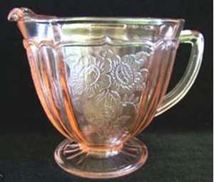 Picture of Hocking Glass - Mayfair ~ Pink - Creamer