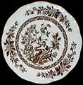 Picture of Meakin, J.G. - India ~ Brown - Dinner Plate