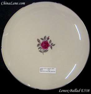 Picture of Lenox - Ballad E538 - Dinner Plate