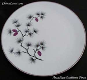Picture of Arcadian - Southern Pines - Bread Plate