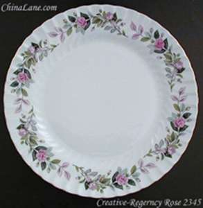 Picture of Creative - Regency Rose #2345 - Bread Plate
