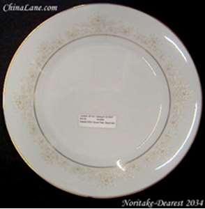 Picture of Noritake - Dearest 2034 - Bread Plate