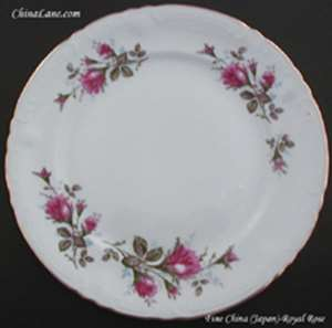 Picture of Fine China of Japan - Royal Rose - Dessert Bowl
