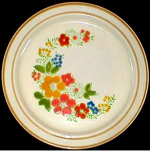 Picture of Japan China - Sweet Flowers 305 - Bread Plate