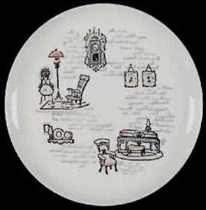 Picture of Marcrest - Gay Ninties - Dinner Plate
