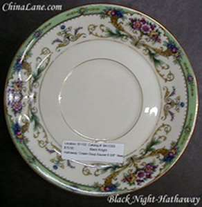 Picture of Black Knight - Hathaway - Cream Soup Saucer