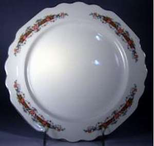 Picture of George, W.S. - Flower Rim - Luncheon Plate