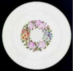 Picture of Limoges ~ American - Regency Bouquet - Luncheon Plate