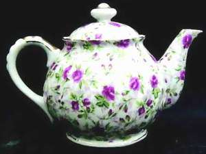 Picture of Lefton - Rose Chintz - Tea Pot
