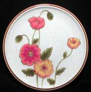 Picture of Mikasa - California Poppies C9051 - Dinner Plate