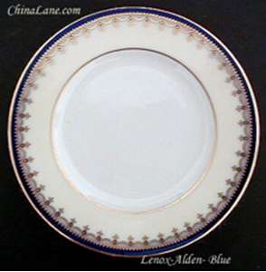 Picture of Lenox - Alden ~ Blue G388B - Bread Plate