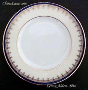 Picture of Lenox - Alden ~ Blue G388B - Cream Soup Saucer