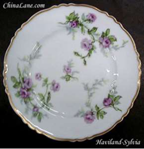 Picture of Haviland - Sylvia ~ White ~ France - Dinner Plate