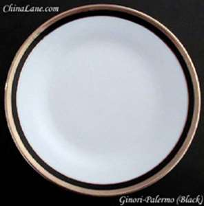 Picture of Ginori, Richard - Palermo ~ Black - Salad Plate
