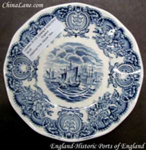Picture of England - Historical Ports of England - Dessert Bowl