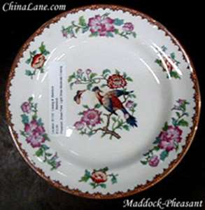 Picture of Maddock - Pheasant - Bread Plate