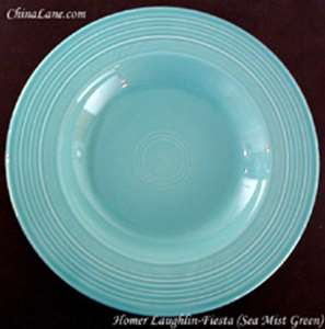 Picture of Homer Laughlin - Fiesta ~ Seamist Green - Individual Pasta Bowl