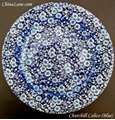 Picture of Churchill - Calico ~ Blue - Dinner Plate