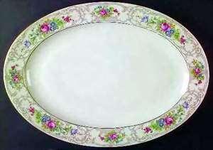 Picture of Lamberton - Flora - Platter- Medium