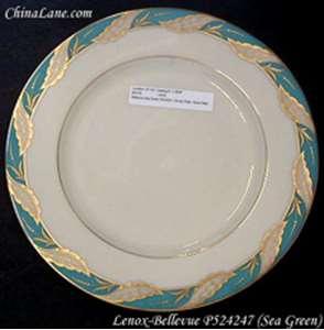 Picture of Lenox - Bellevue ~ Sea Green P524247 - Dinner Plate