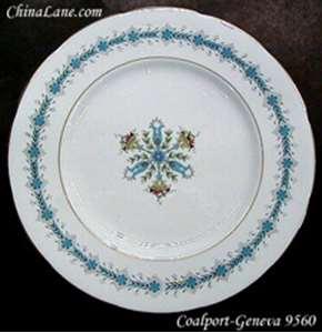 Picture of Coalport - Geneva 9560 ~ Athens Shape - Dinner Plate