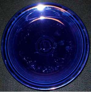 Picture of Homer Laughlin - Fiesta ~ Cobalt Blue (Newer) - Dinner Plate