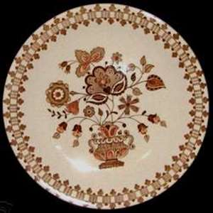 Picture of Johnson Brothers - Jamestown ~ Brown - Dinner Plate